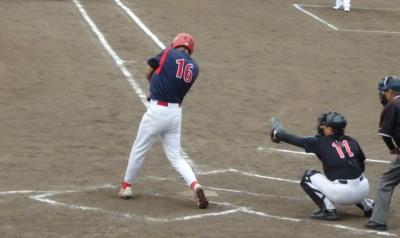 P6143944熊本早起き5回表1死一塁から9番が右翼線二塁打を放ち二、三塁とする