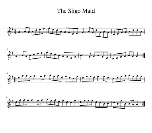 Sligo Maid, The-1