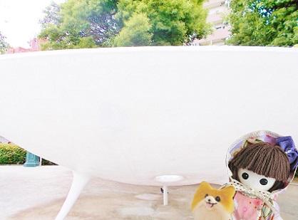 謎のオブジェです 隅田公園