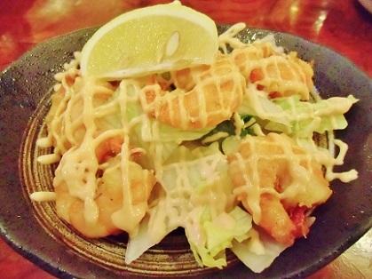 大好き 海老サラダ