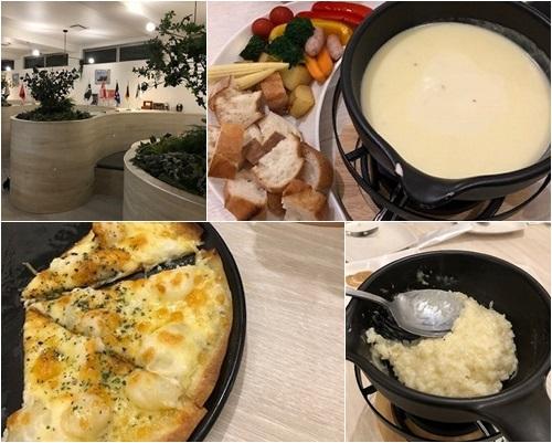 チーズフォンデュのお店