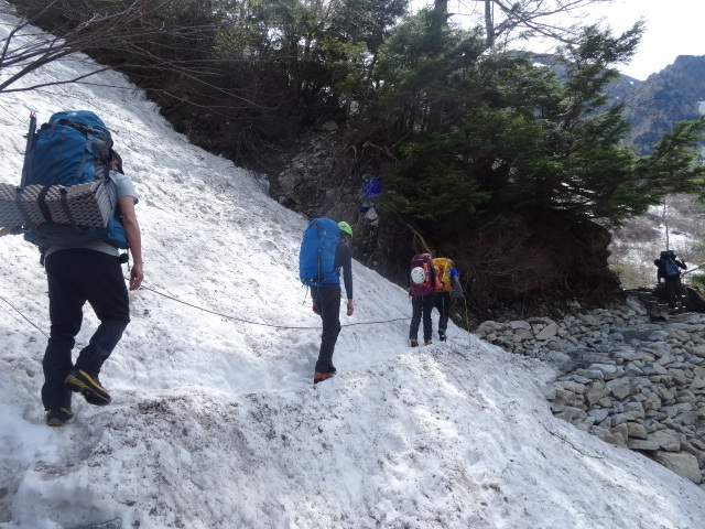 08涸沢残雪期テント泊
