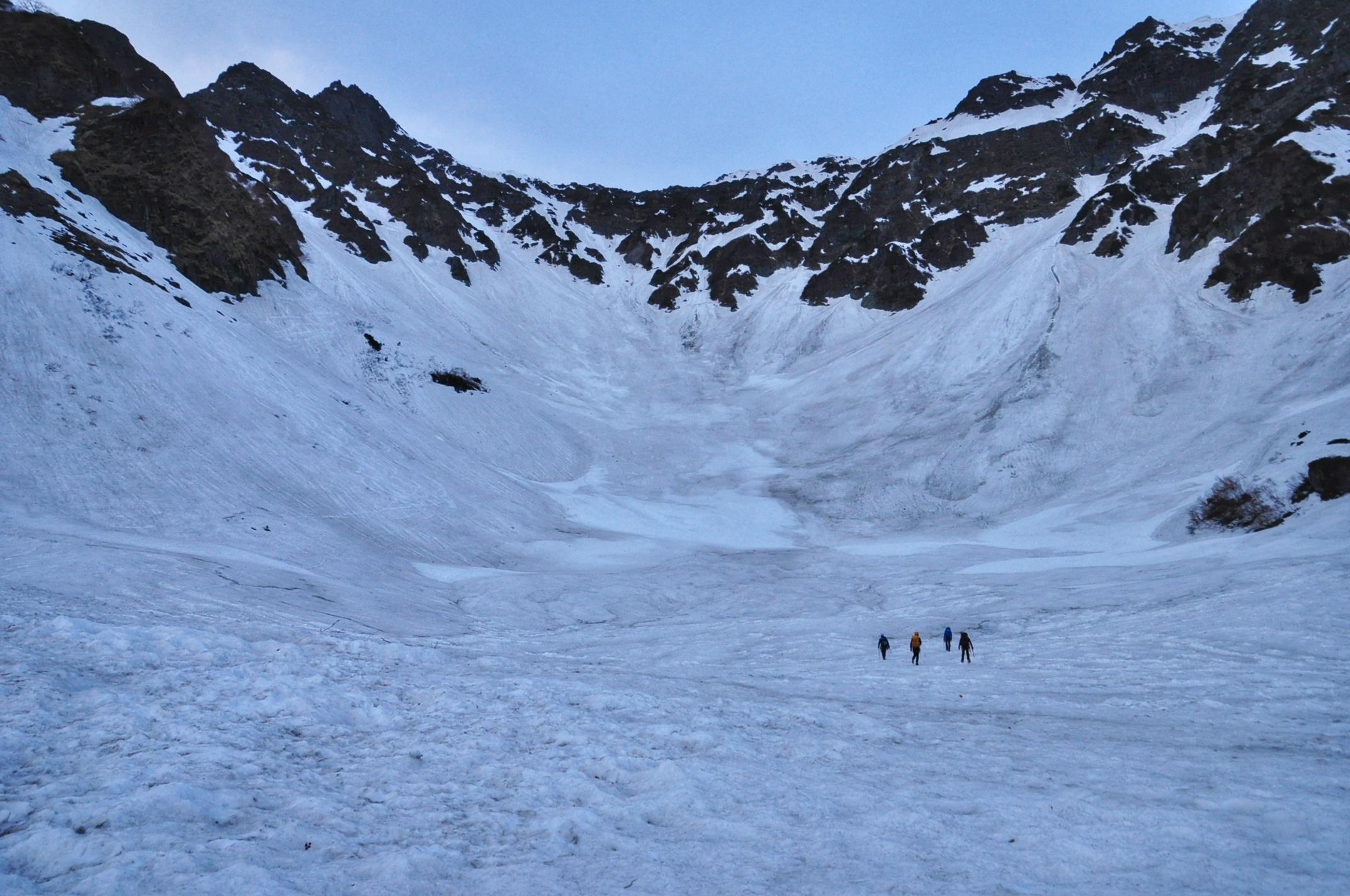20涸沢残雪期テント泊