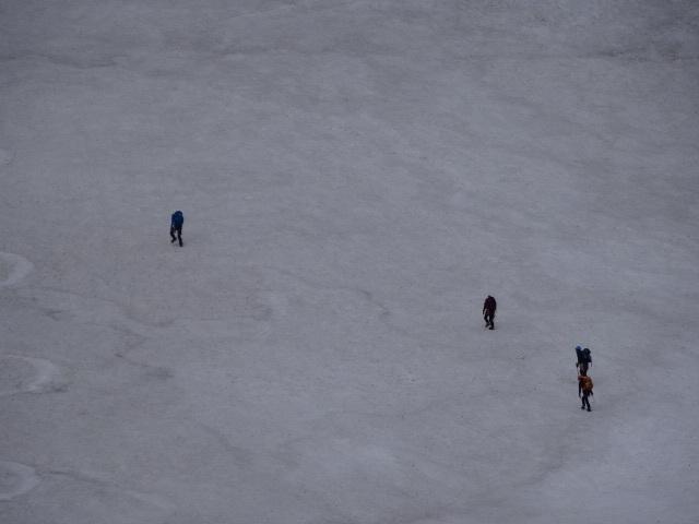 21涸沢残雪期テント泊