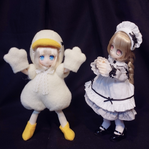 2019-03-10-ひよこイルミイ&ピチカ