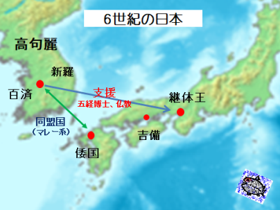 6世紀の日本