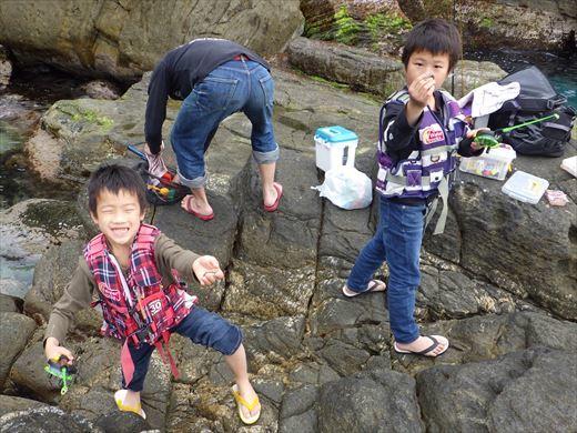 神津島の磯釣り (6)