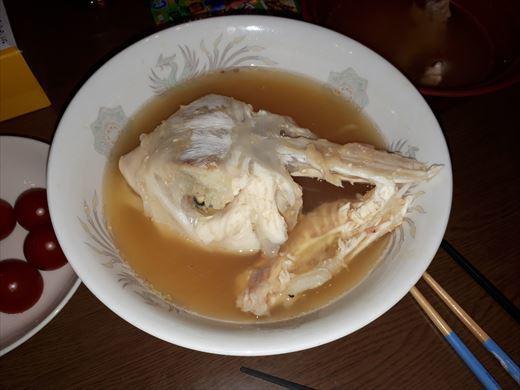 魚を捌く>< (5)