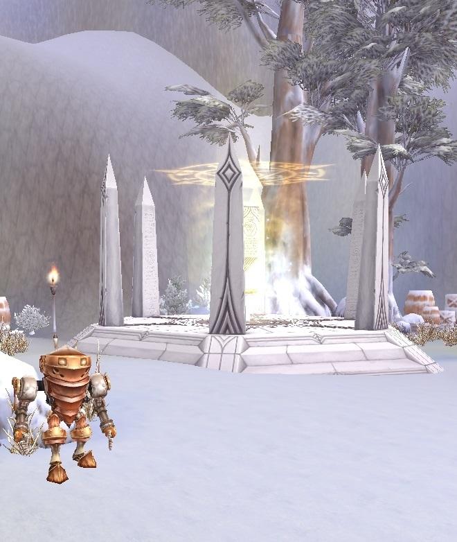 GFブログ(W10)用309A4 GFの風景・雪原の荒野 ワープ