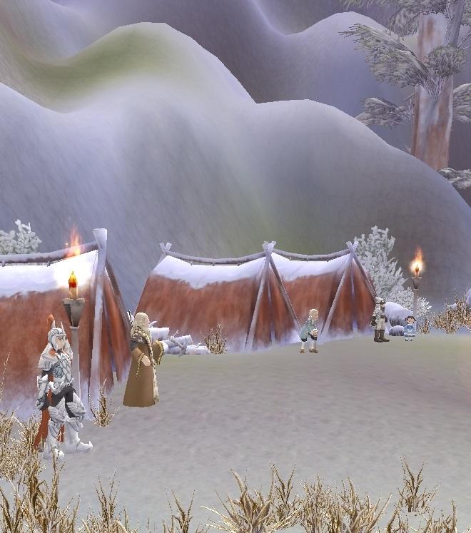 GFブログ(W10)用309A5 GFの風景・雪原の荒野 隠者の村