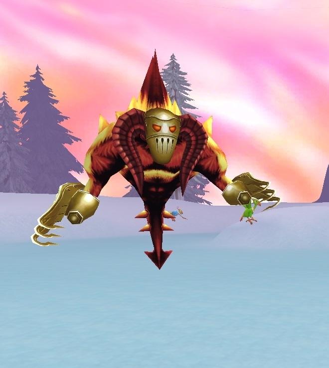 GFブログ(W10)用309A15 GFの風景・雪原の荒野 悪魔剣霊