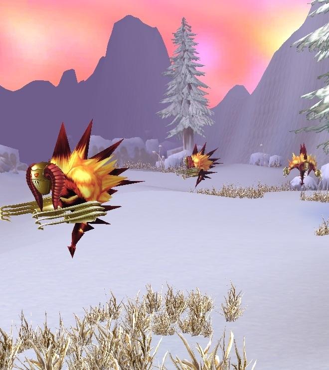GFブログ(W10)用309A20 GFの風景・雪原の荒野 魔剣