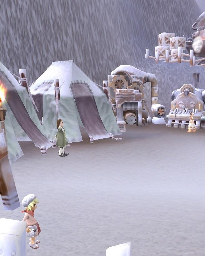 GFブログ(W10)用309A24 GFの風景・雪原の荒野 極地の見張り場2