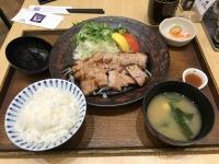 大戸屋の塩麹豚バラ肉定食190410