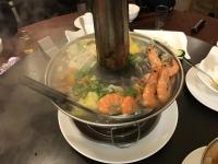 炭焼き東北酸菜白肉鍋190413