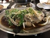 蒸し魚190413