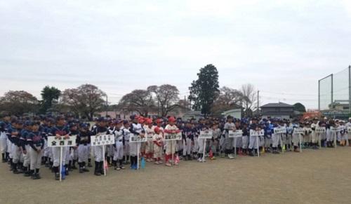 宇都宮西部学童野球<第69回 親善大会 開会式>!