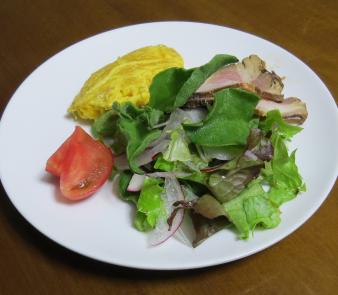 アイスプラント入り生野菜サラダ