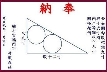 2019-3-30金王八幡宮の算額