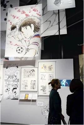 2019-5-26大英博物館のマンガ展4