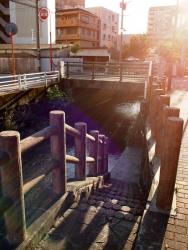 190601_01栄橋前の階段