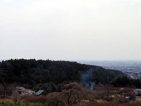 0409箕輪城跡と高崎市街