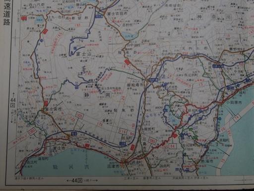 20181225・道路地図31-4・小田原・富士山