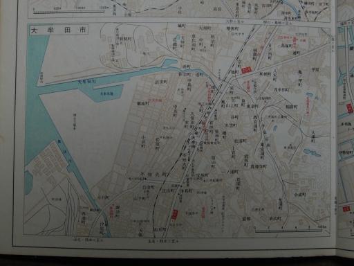20190401・道路地図70-4・大牟田市街図