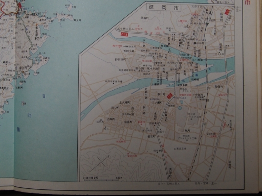 20190401・道路地図73-2・佐伯&延岡市街図