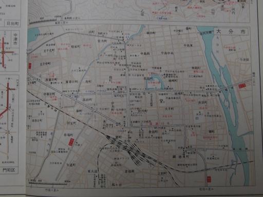 20190401・道路地図74-6・大分市街図