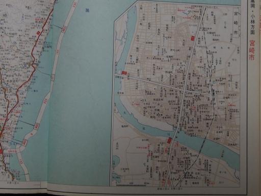 20190401・道路地図74-2・高鍋&宮崎市街図