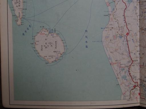 20190401・道路地図88-4・豊富・利尻島・礼文島南部