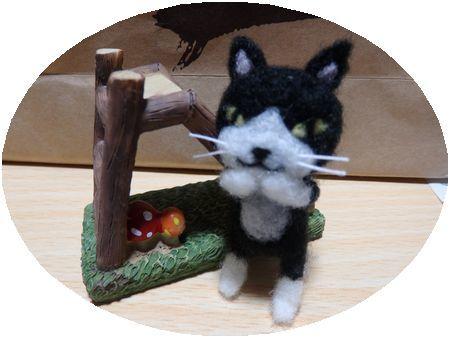 猫ストラップ1