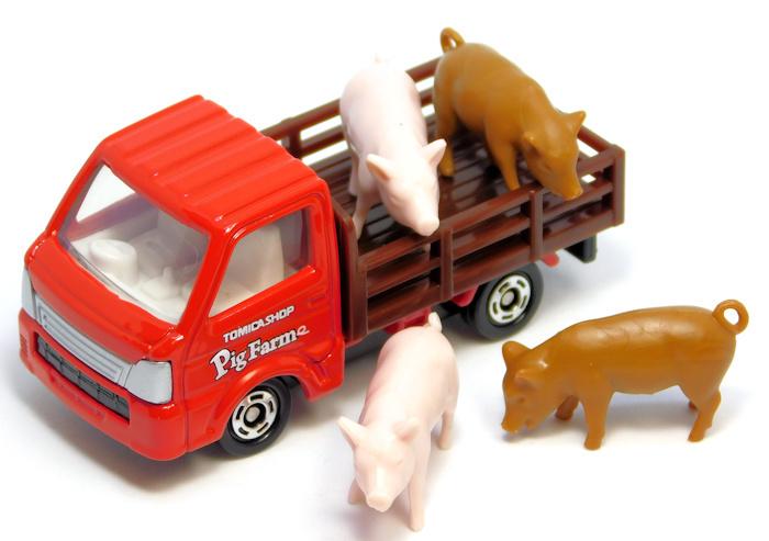 【レビュー】トミカショップオリジナル トミカ養豚場トラック