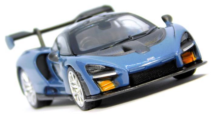 【MINI GT】1/64 マクラーレン セナ ヴィクトリー グレイ