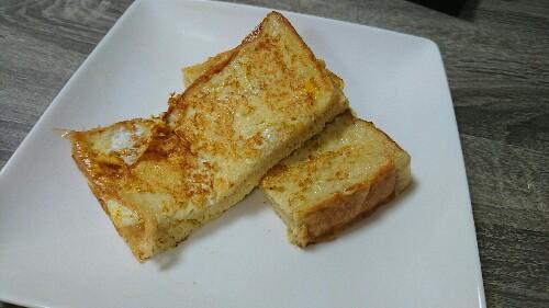 低糖質なフレンチトースト【糖質16.6g】低糖質食パンを使えばフレンチトーストも食べられる!