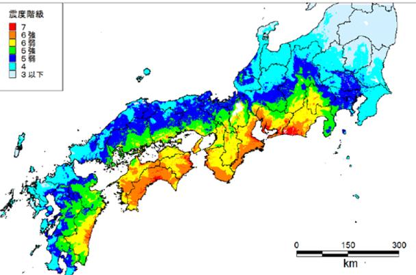 80 南海トラフ地震の予想震度