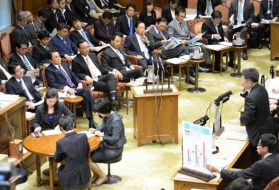 参院予算委員会