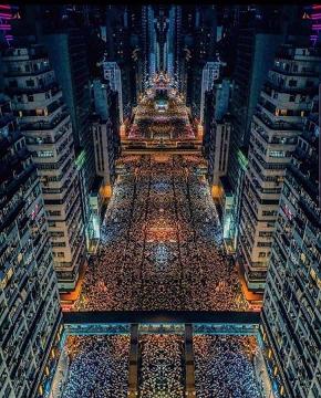 40 香港 デモ