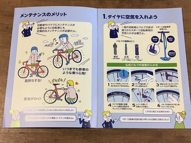 初めてのスポーツ自転車4