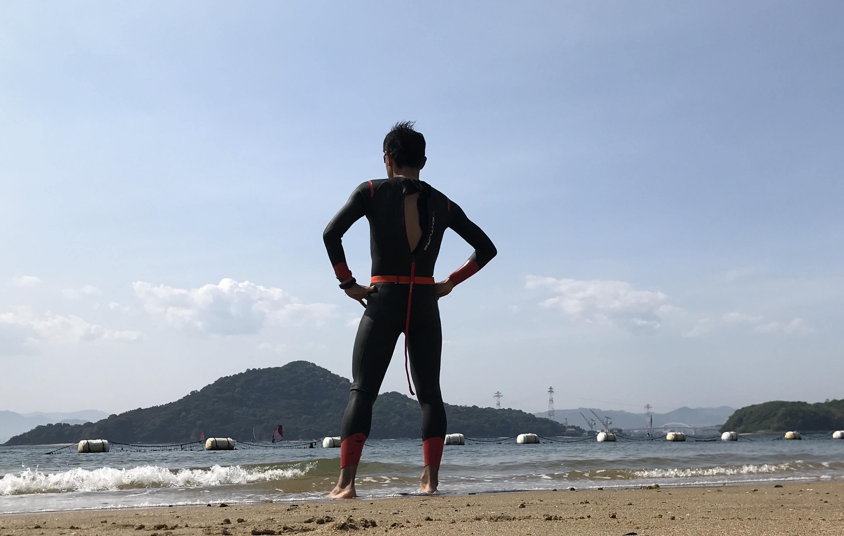 ヘボからのスイム苦闘記㉓~今季、初の「オープンウォータースイムトレーニング」...広島でも良い練習場所見つけました!~