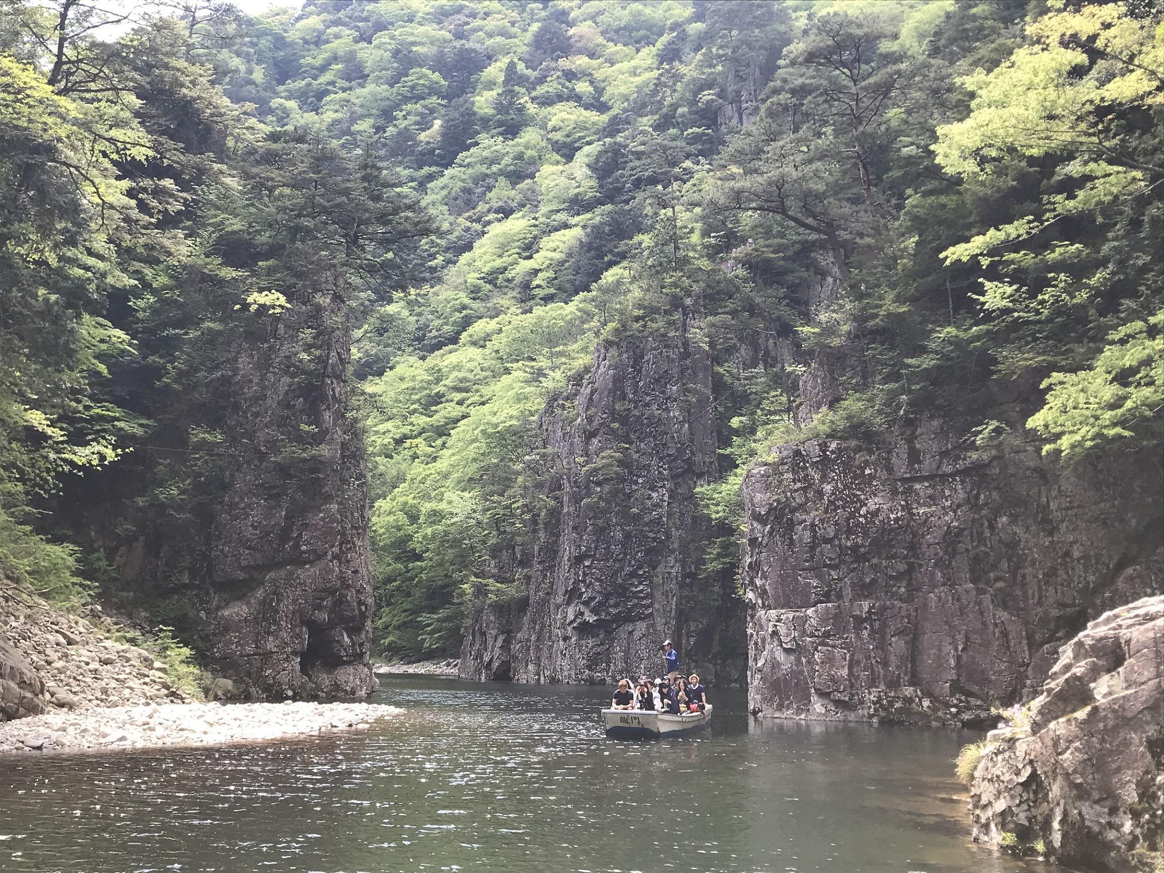 まっさんの男ひとり旅㉒~せとうち編その6...初夏の三段峡で新緑を満喫~