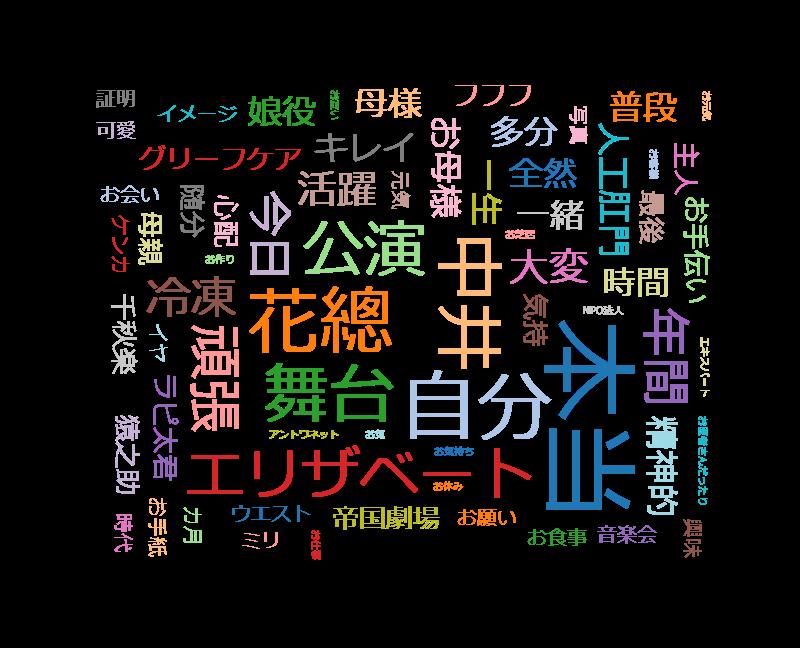徹子の部屋 中井美穂&花總まり~ミュージカル界の大人気女優…