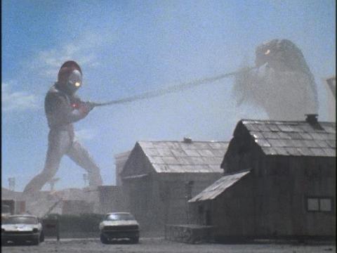 ウルトラマン80 vs ガビシェール