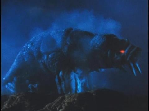 地底怪獣 アルフォン