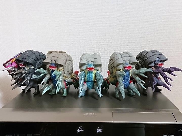 ウルトラ怪獣シリーズ ガタノゾーア 中国限定ソフビ11