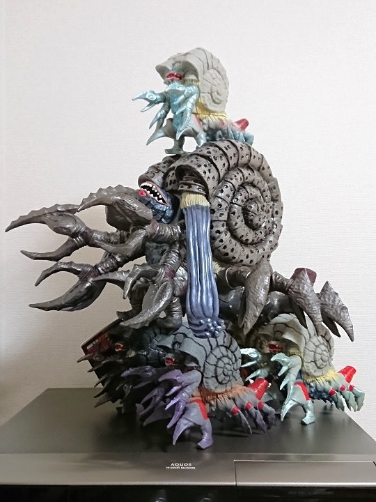 ウルトラ怪獣シリーズ ガタノゾーア 中国限定ソフビ12