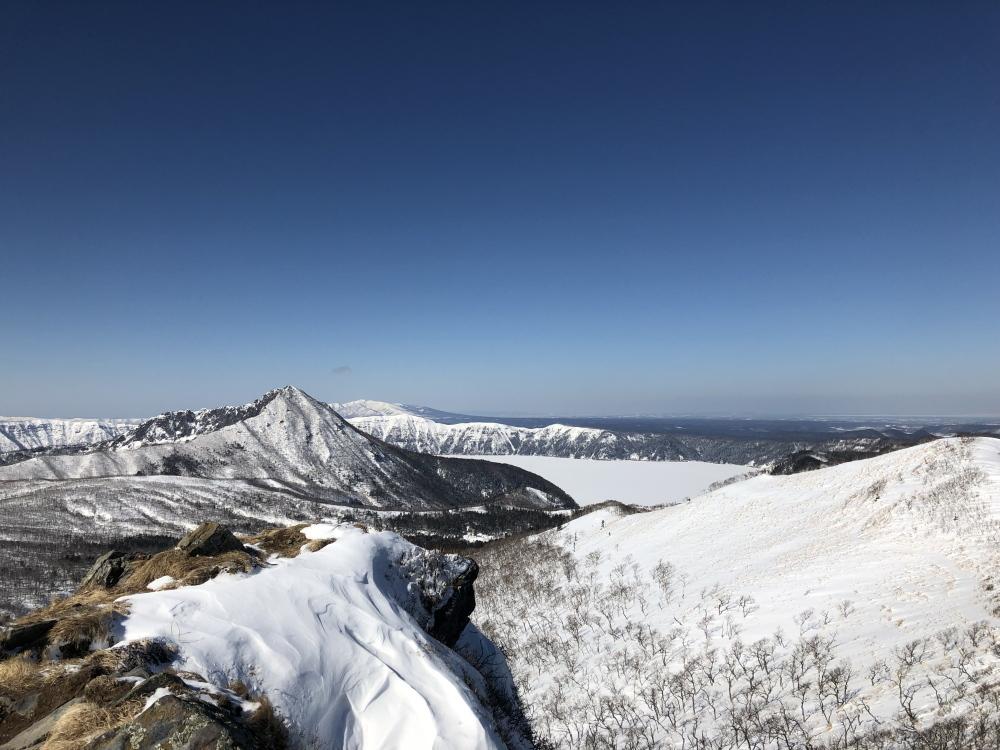 リスケ山~摩周岳、摩周湖