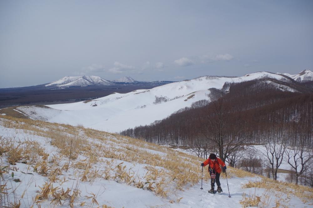 モアン山の急登
