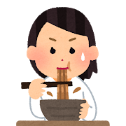 syokuji_curry_udon_woman.png
